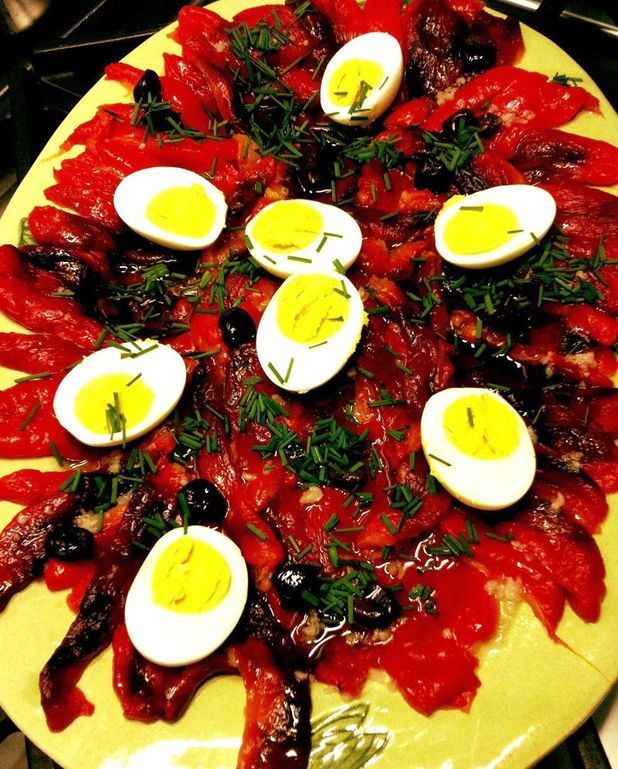 Salade de poivrons rouges
