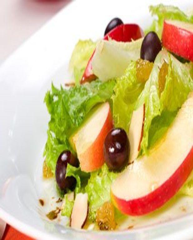 Salade de pommes chaudes