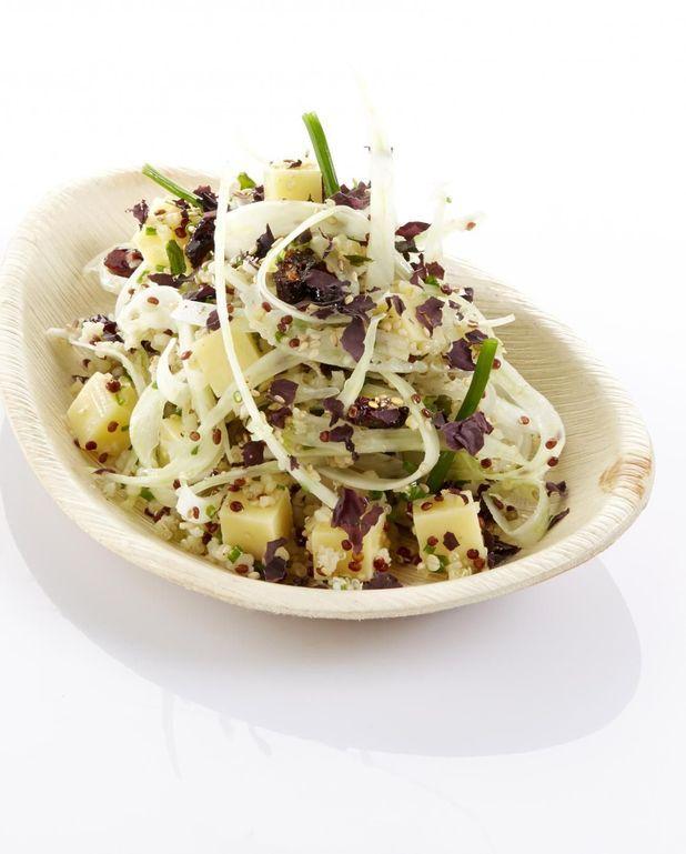 Salade de quinoa et canneberges