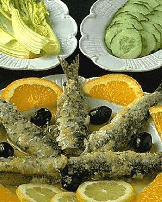 Salade de sardines fraîches