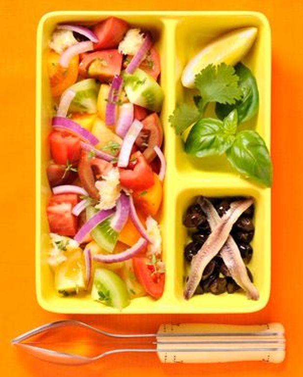 Salade de toutes les couleurs