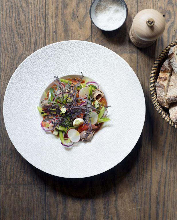 Salade niçoise de chef