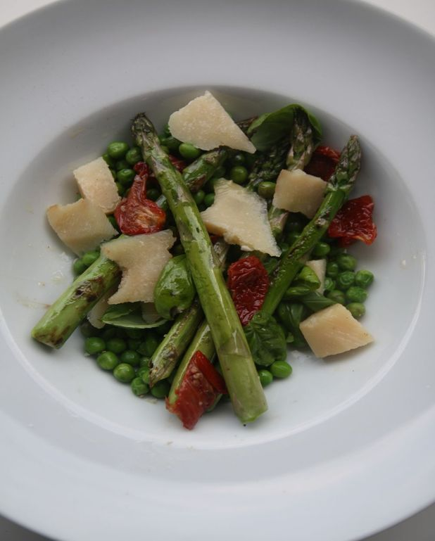 Salade petits pois asperges