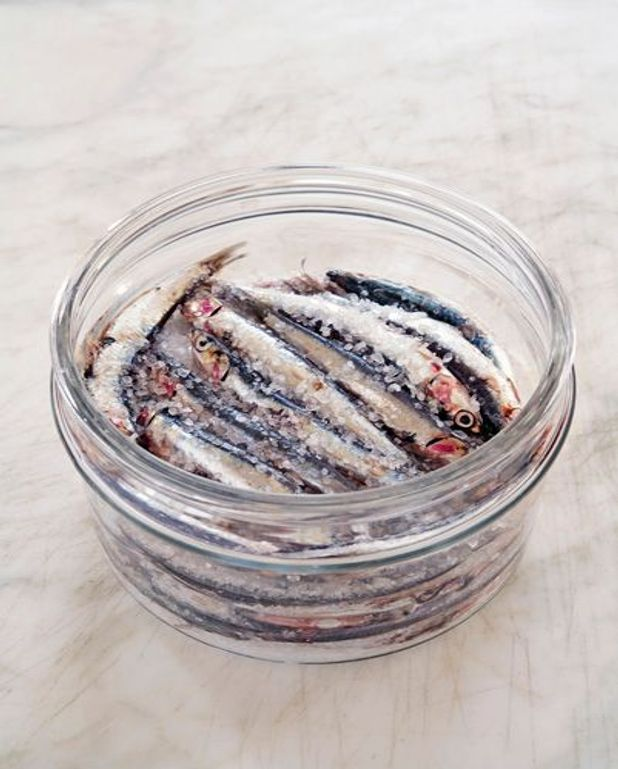Salade provençale aux anchois
