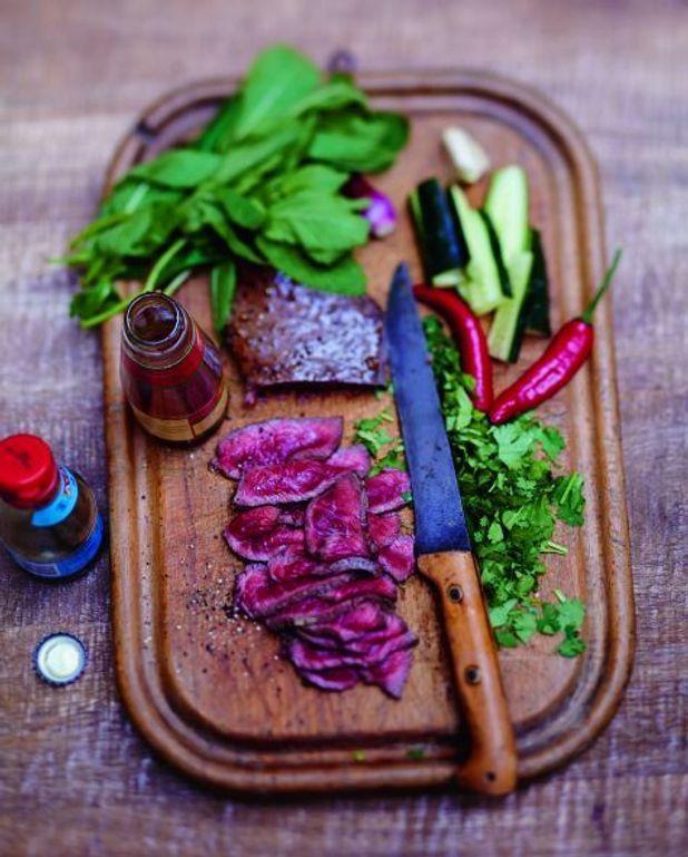 Salade thaïe au bœuf