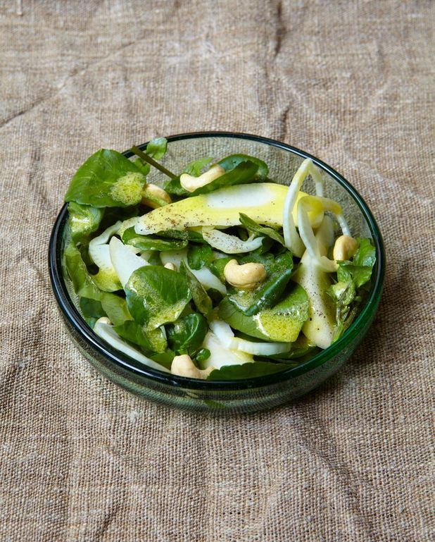 Salade très verte