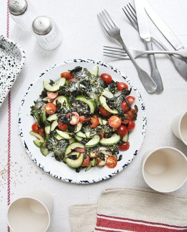Salade wakamé