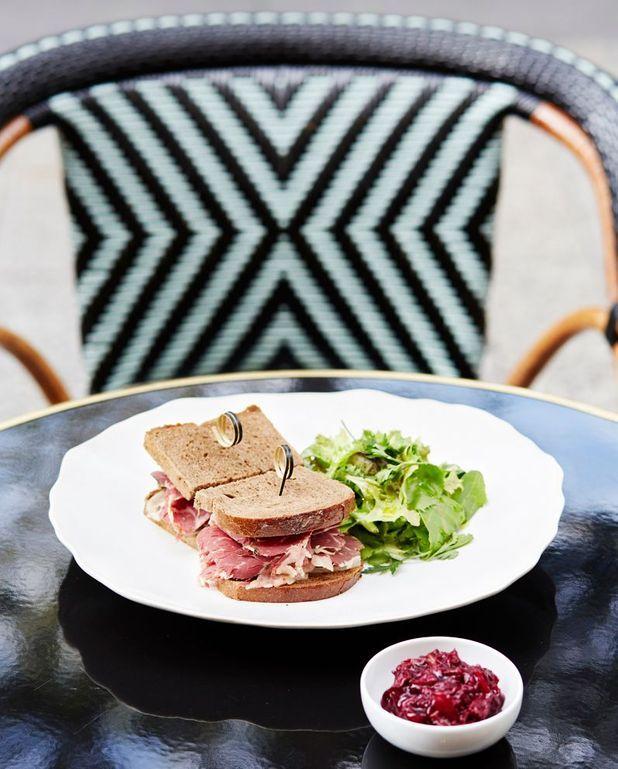 Sandwich chaud au pastrami de Pierre Hermé