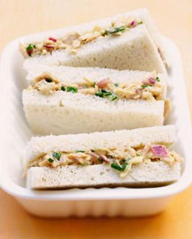 Sandwiches thon-mayo