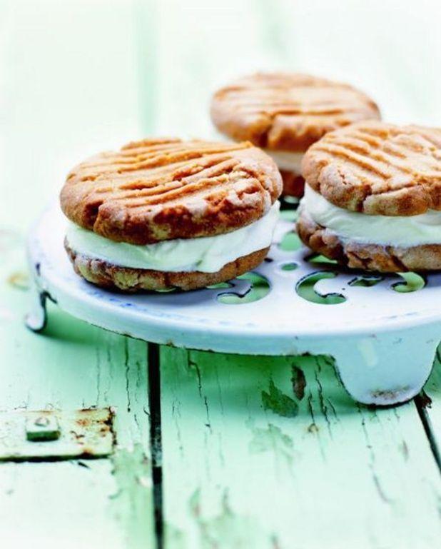 Sandwichs glacés au beurre de cacahuète