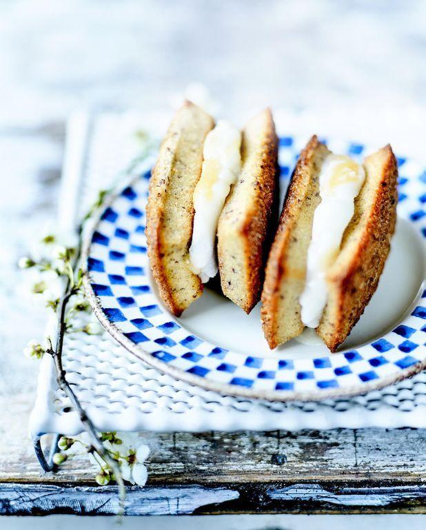 Sandwichs glacés lemon curd