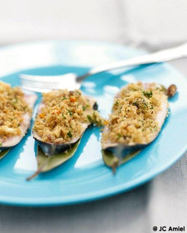 Sardines a beccafico, Sardines farcies, laurier et sauce à l'orange