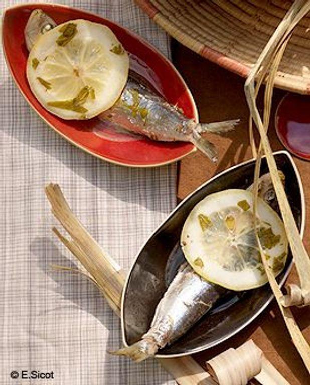 Sardines en cocotte aux agrumes
