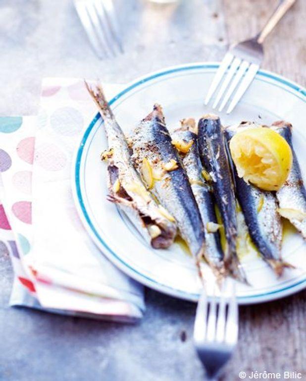 Sardines grillées de Saint-Gilles-Croix-de-Vie