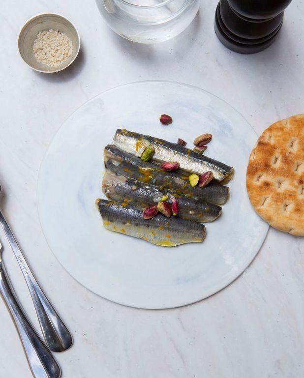 Sardines marinées aux agrumes