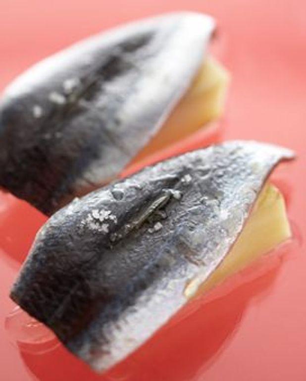 Sardines pommes à l'huile