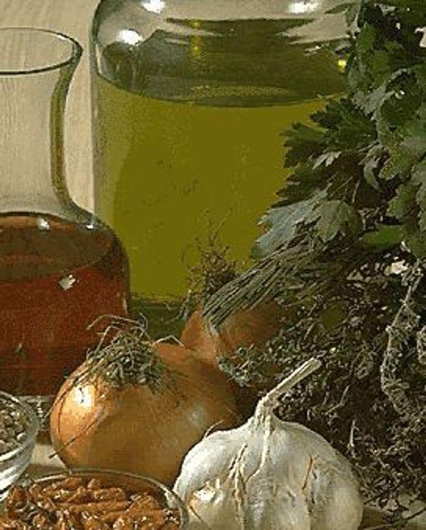 Sauce au persil et aux oignons