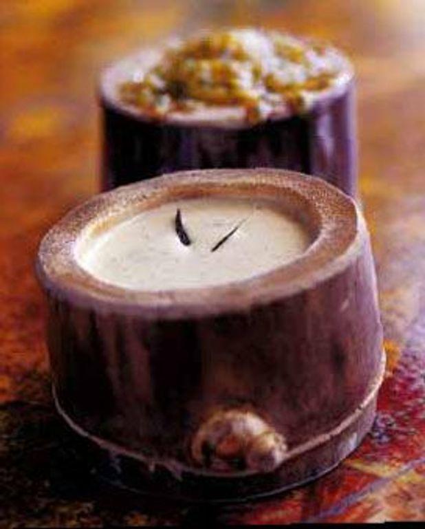 Sauce vanille-fruit de la passion