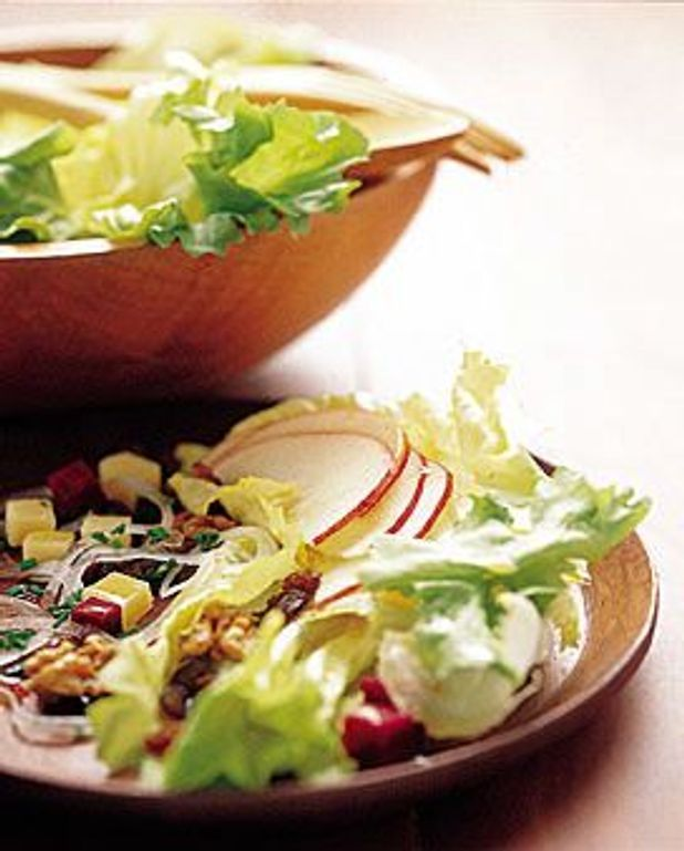 Scarole en salade