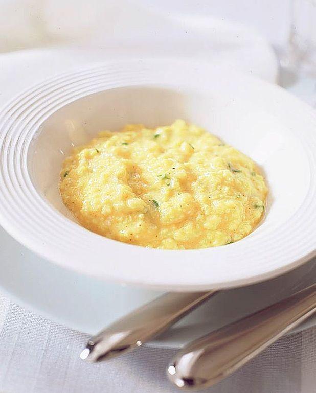 Scrambled eggs à la coque et caviar