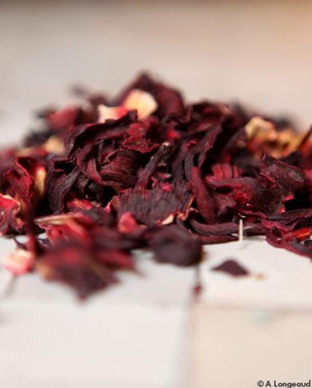 Sirop d'hibiscus