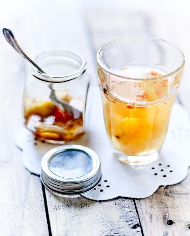 Sirop de gingembre à l'huile essentielle de poivre