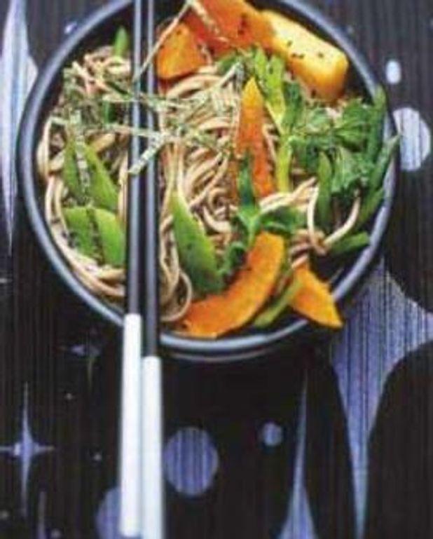 Soba aux légumes