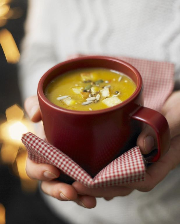 Soupe butternut épicée au citron