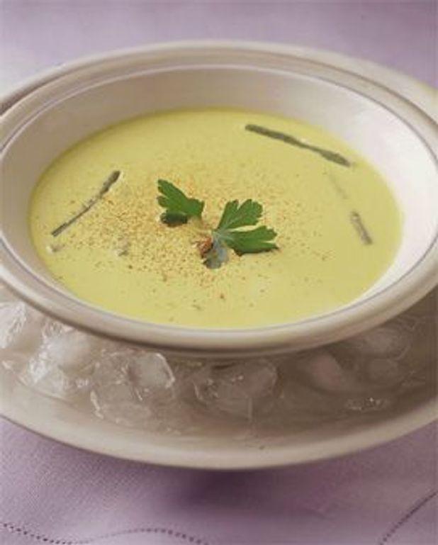 Soupe de haricot vert