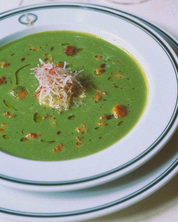 Soupe de salade maraîchère d'Alain Pegouret