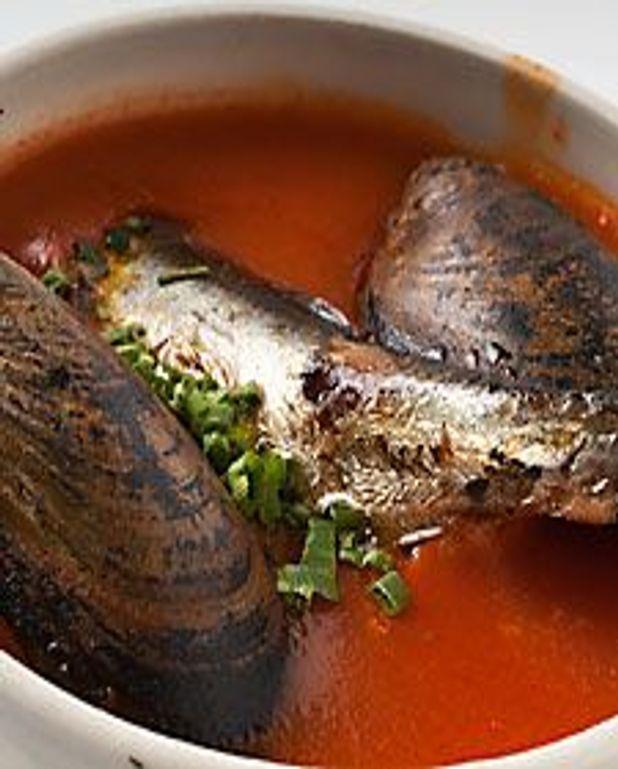 Soupe de tomate à l'espagnole