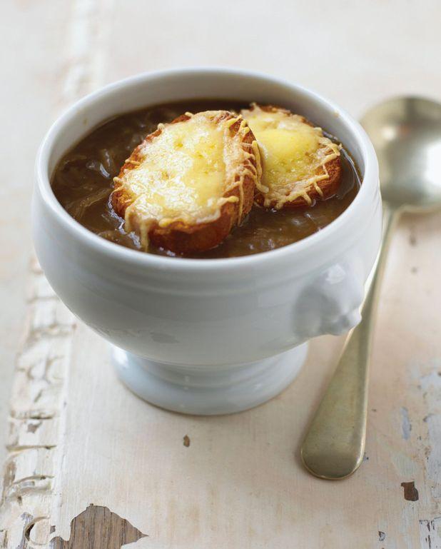 Soupe express aux oignons