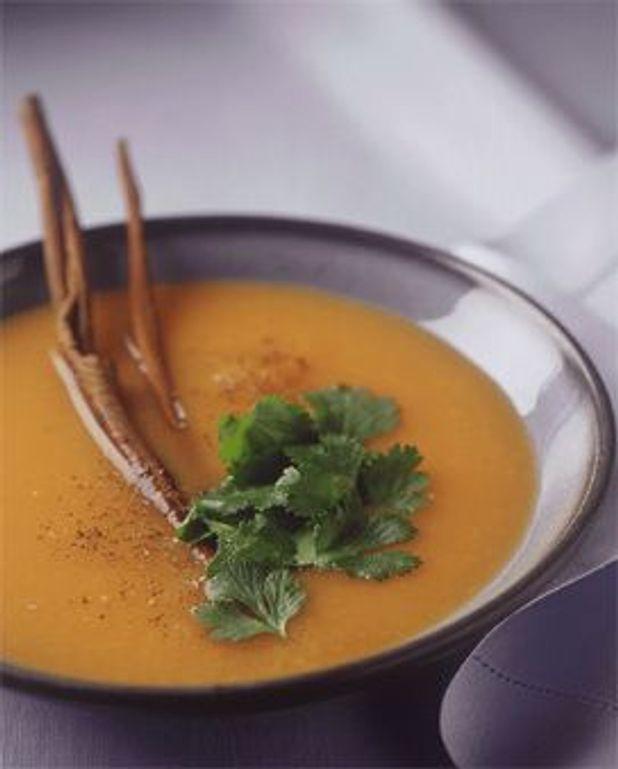 Soupe froide carotte