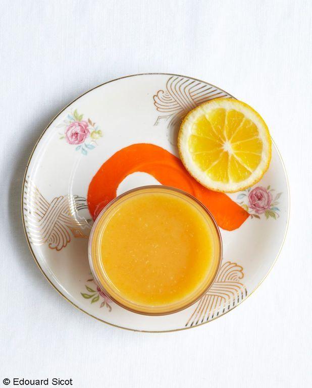 Soupe sucrée aux épices douces