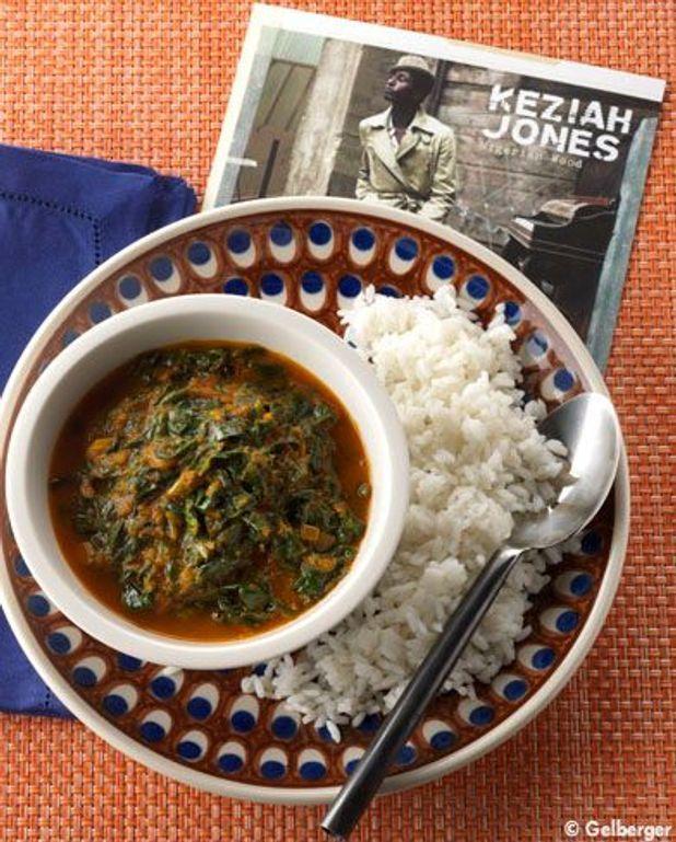 Soupe végétarienne au riz