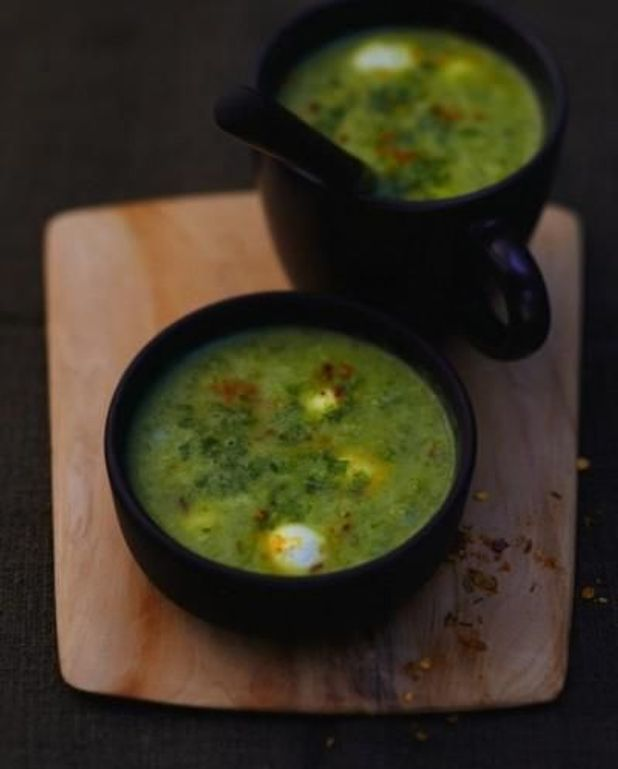 Soupe verte complète