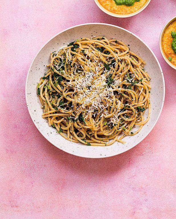 Spaghettis à l'ail et au piment