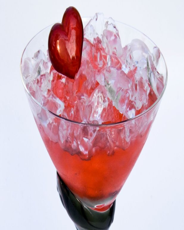 St-valentin feu rouge