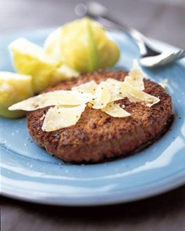 Steak haché au parmesan