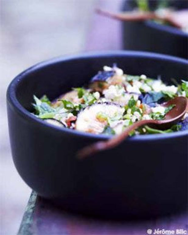 Taboulé de quinoa aux figues