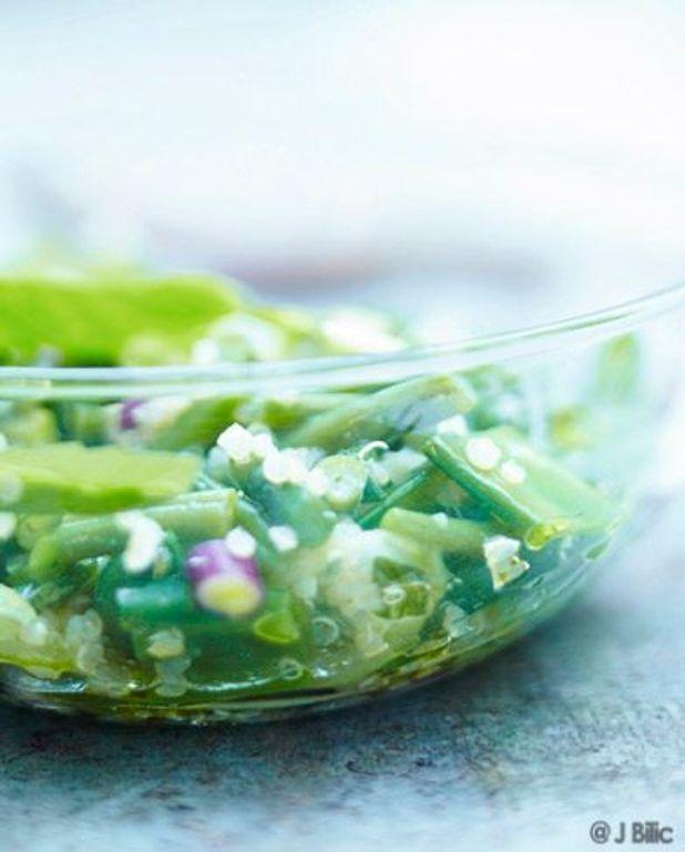 Taboulé de quinoa très vert