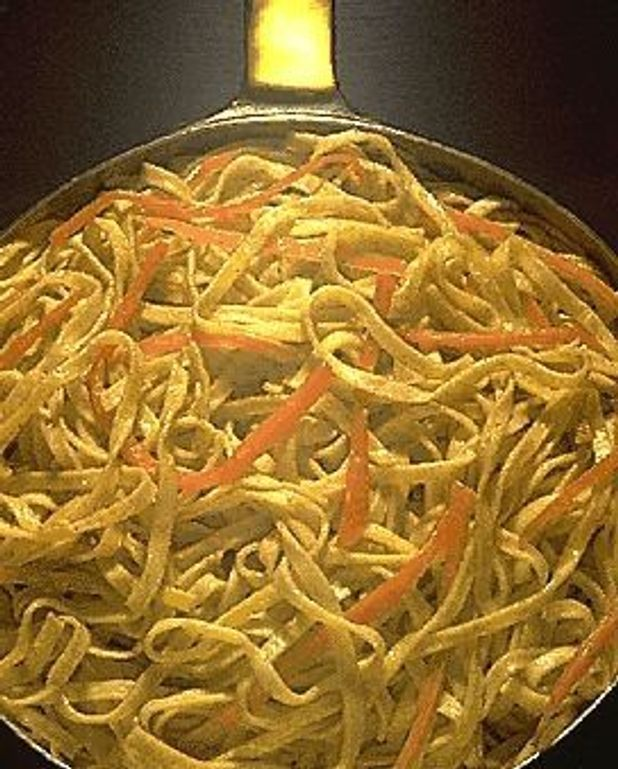 Tagliatelle au curry