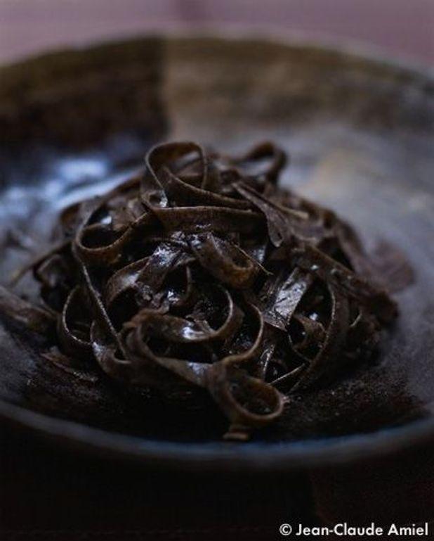 Tagliatelles au thé Pu Er
