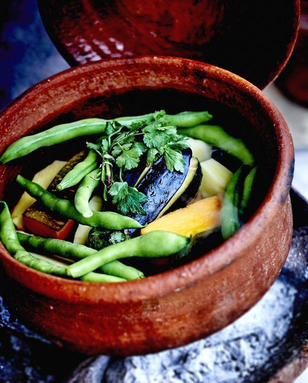 Tajine de légumes aux épices