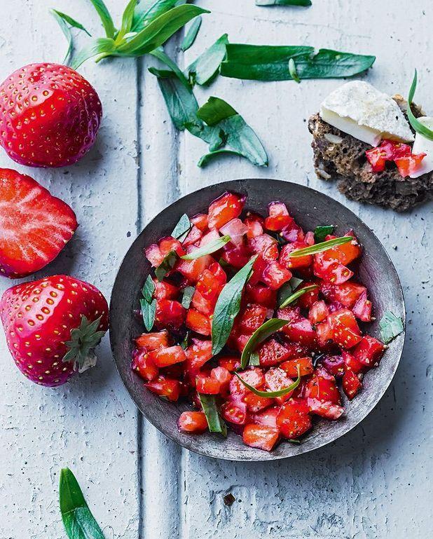Tartare de fraise