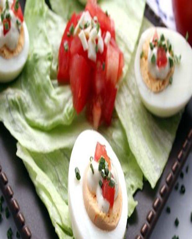 Tartare de tomates à l'huile d'olive