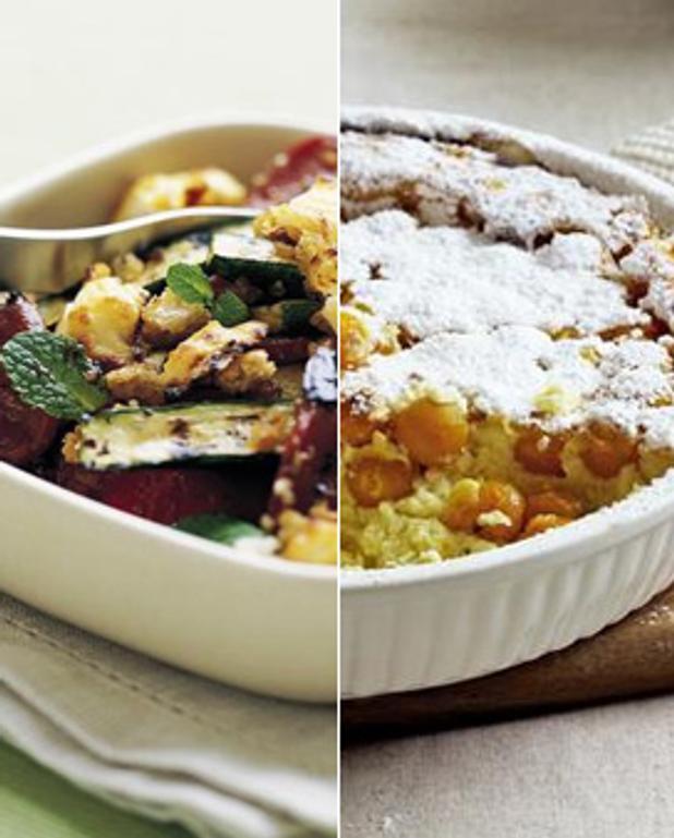 Tarte à la rhubarbe et aux pommes