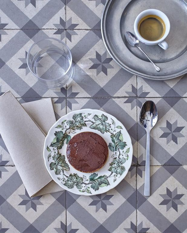 Tarte au chocolat cru et citron