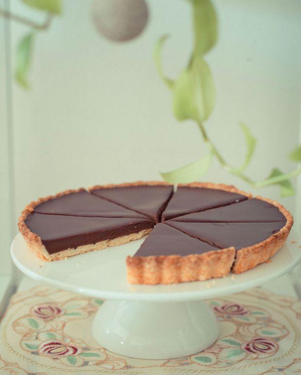 Tarte au chocolat facile Thermomix