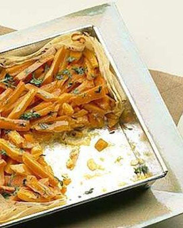 Tarte aux carottes